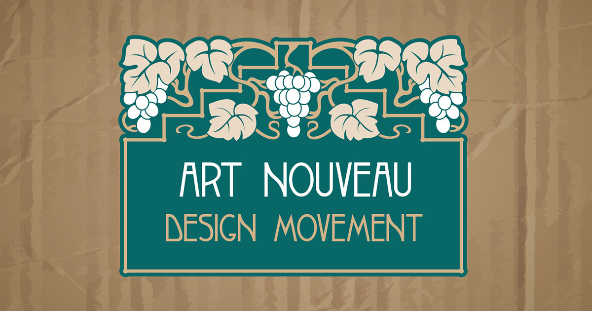 art nouveau design 101 everything you need to know creative