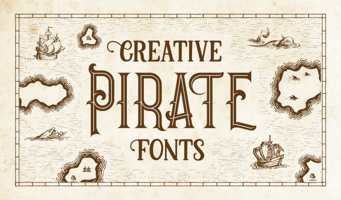photo relating to What's Your Pirate Name Printable titled 15 Mythical Pirate Fonts for Your Common Layout Initiatives