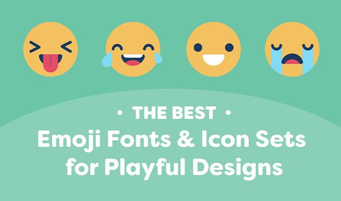 Best Emoji Fonts & Icon Sets for Playful Designs