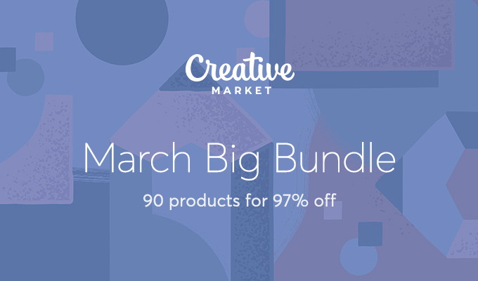 March Big Bundle: Over $1,475 in Design Goods For Only $39!