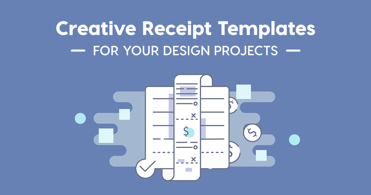 Creative Receipt Templates for Your Design Projects ~ Creative ...