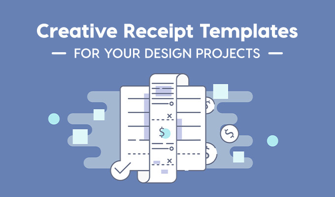 Creative Receipt Templates for Your Design Projects
