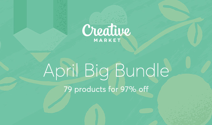 April Big Bundle: Over $1488 in Design Goods For Only $39!