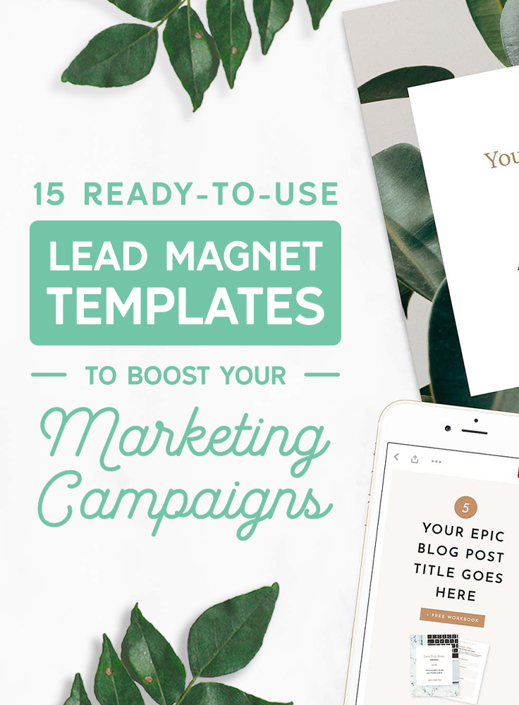 15 Ready-to-Use Lead Magnet Templates to Boost Your