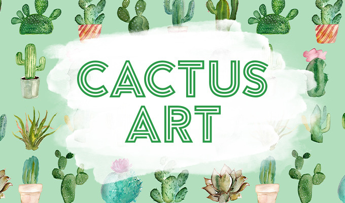 Cactus Art: A Collection of Drawings & Vectors Inspired by Your Favorite Plant