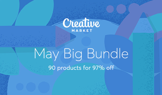 May Big Bundle: Over $1,375 in Design Goods For Only $39!