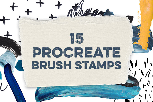 15 Procreate Brush Stamps to Embellish Your Lettering Designs