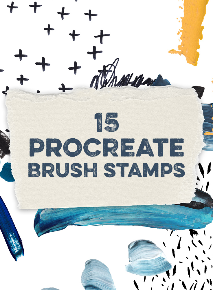 15 Procreate Brush Stamps To Embellish Your Lettering