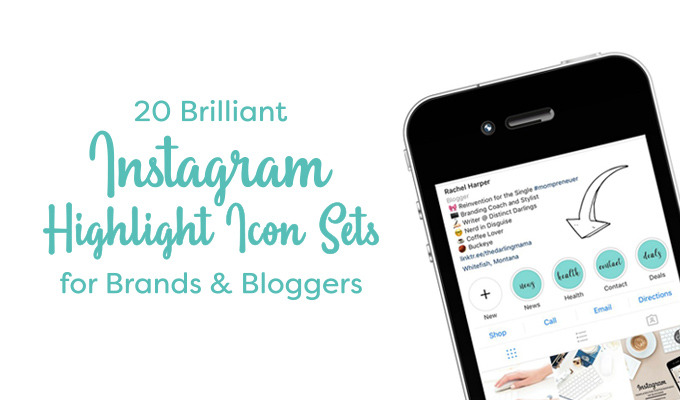 Christmas Icon For Instagram Highlights.20 Brilliant Instagram Highlight Icon Sets For Brands