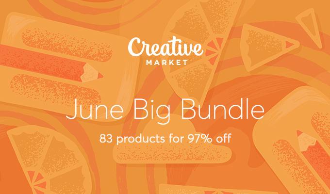 June Big Bundle: Over $1,300 in Design Goods For Only $39!