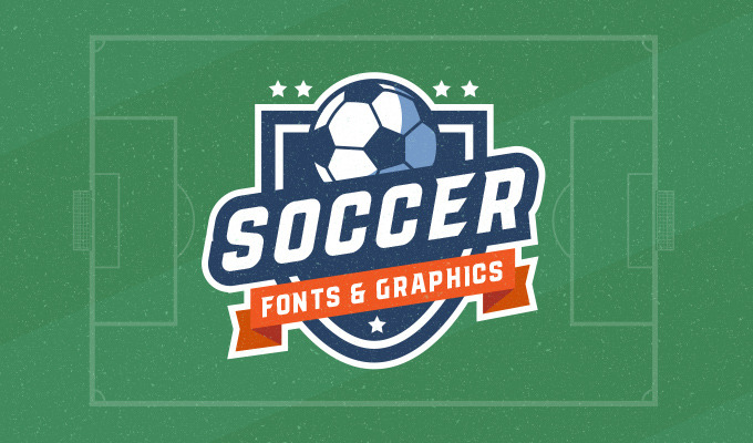 Soccer Fonts & Graphics To Score a Design Goal