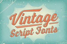 Vintage Script Fonts With a Bold, Handmade Feel