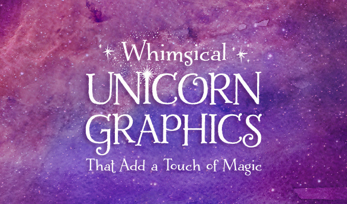 Whimsical Unicorn Graphics That Add a Touch of Magic