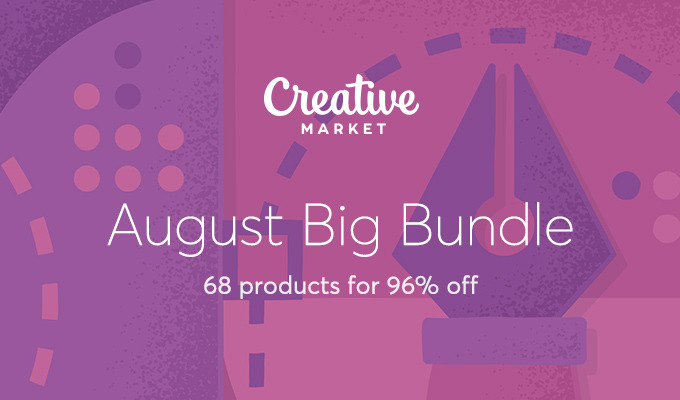 August Big Bundle: Over $1,238 in Design Goods For Only $39!