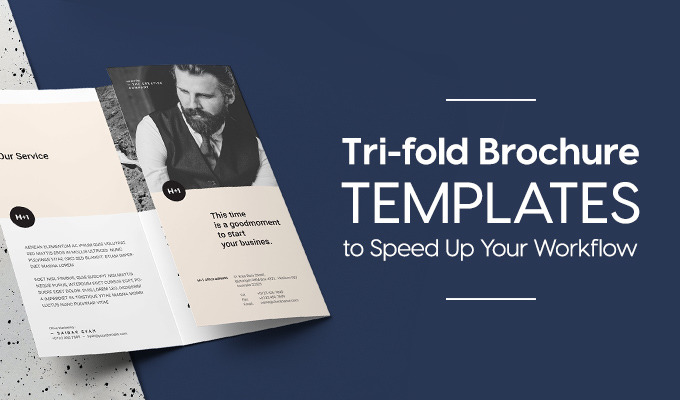 Tri-fold Brochure Templates to Speed Up Your Photoshop & InDesign Workflow