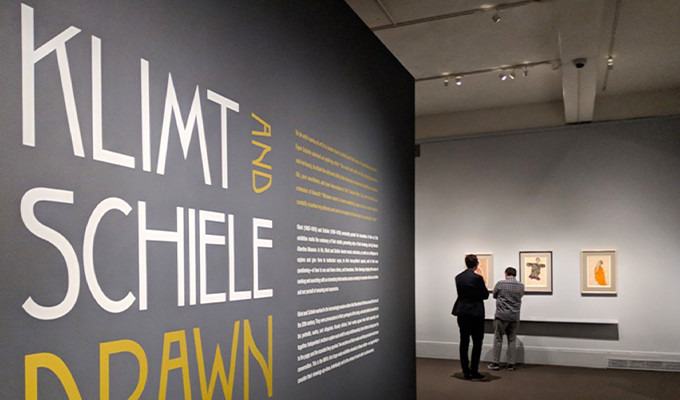 Spotted: Secesja Font in a Museum of Fine Arts Exhibit in Boston