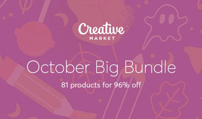 October Big Bundle: Over $1,100 in Design Goods For Only $39!