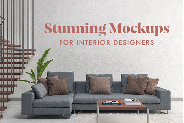 Stunning Mockups for Interior Designers: Walls, Pillows, Posters & ...