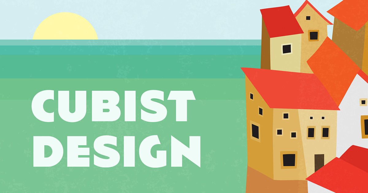 Design Trend Report Cubism In Graphic Design Creative Market Blog