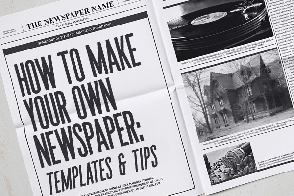 How to Make Your Own Newspaper: Templates & Tips