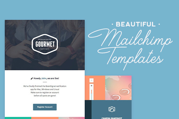 Mailchimp Templates: Beautiful Layouts to Design Polished Emails