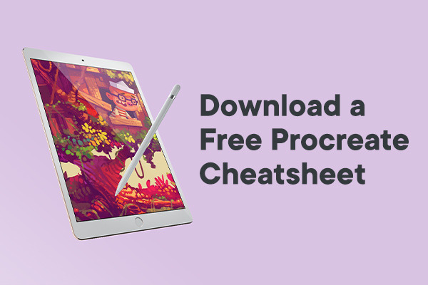 Free Procreate Cheatsheet: A PDF Guide to Brushes, Layers & the Can...