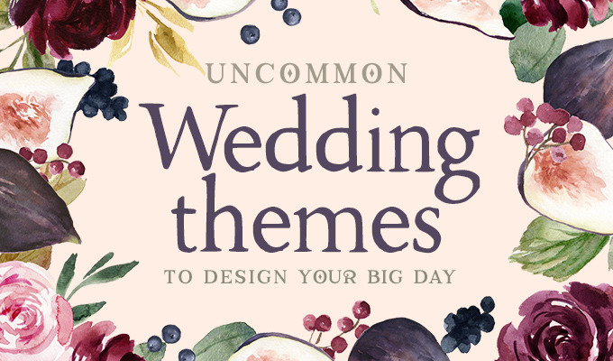 Uncommon Wedding Themes to Design Your Big Day