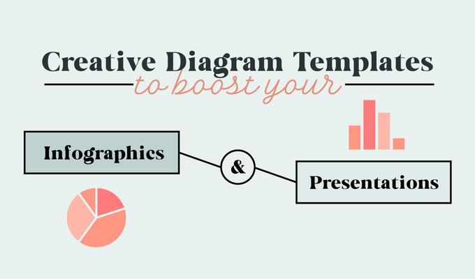 How to Boost Your Infographics and Presentations With Creative Diagram Templates