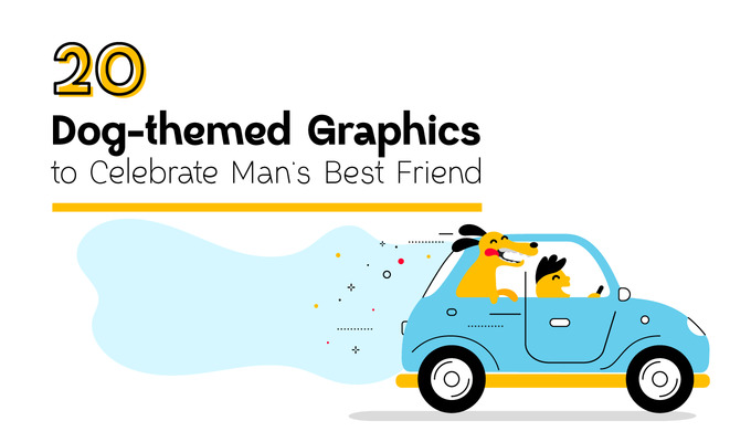 20 Dog-themed Graphics to Celebrate Man's Best Friend