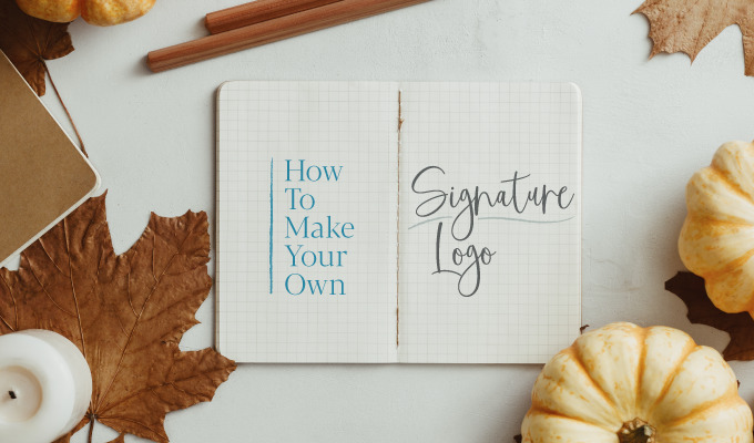 How to Make Your Own Signature Logo