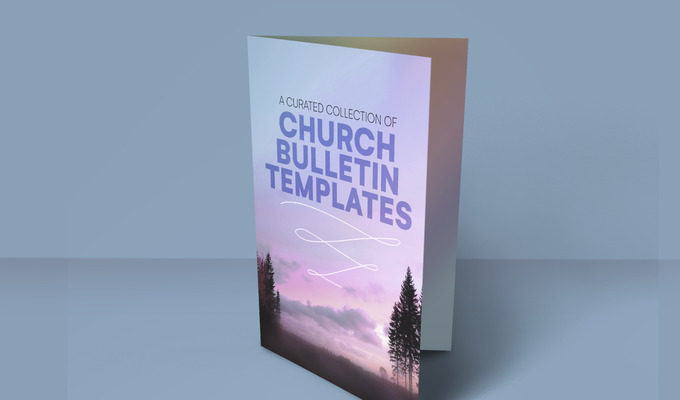 A Curated Collection of Church Bulletin Templates
