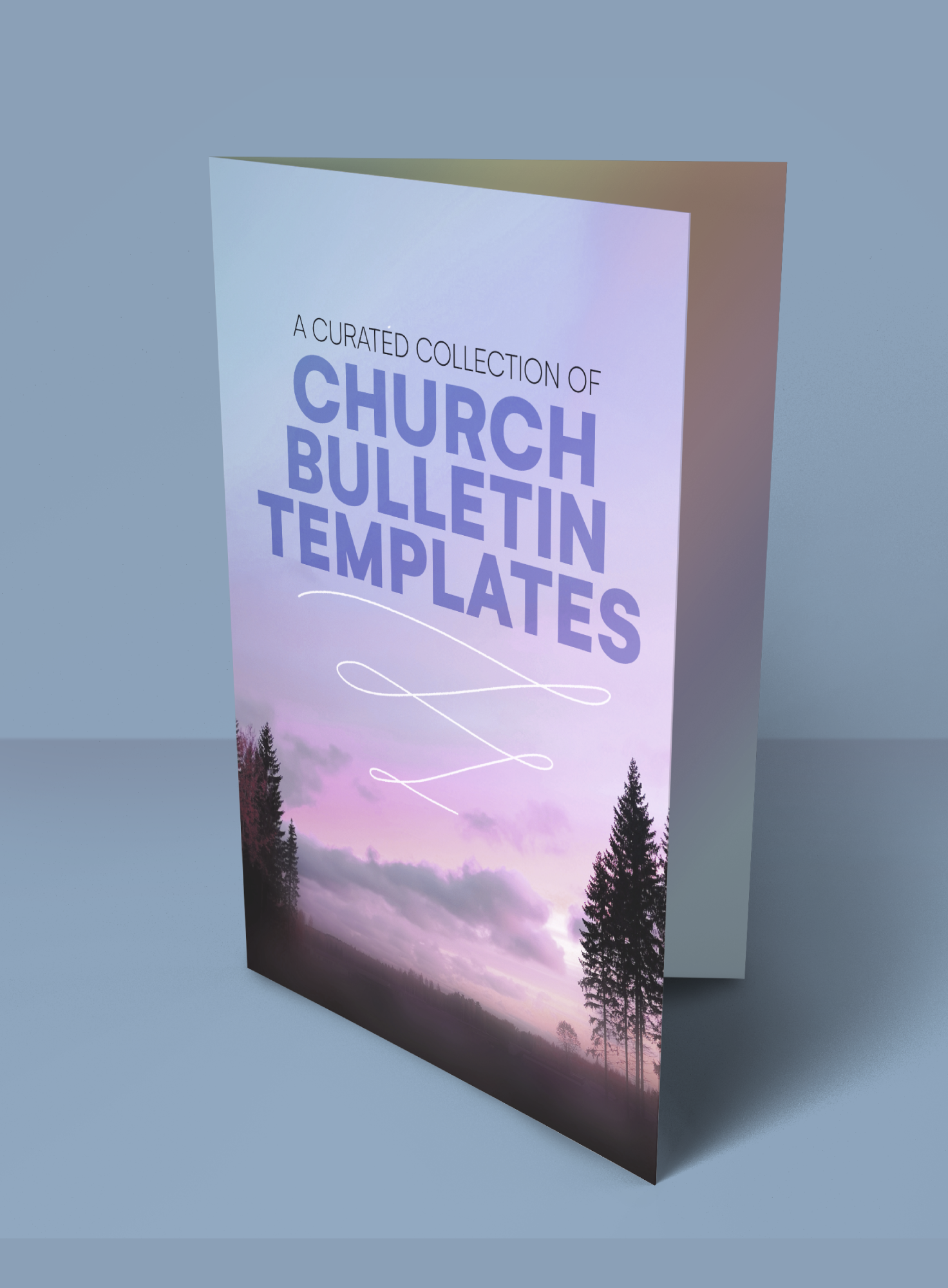 A Curated Collection of Church Bulletin Templates  Creative Throughout Church Program Templates Word