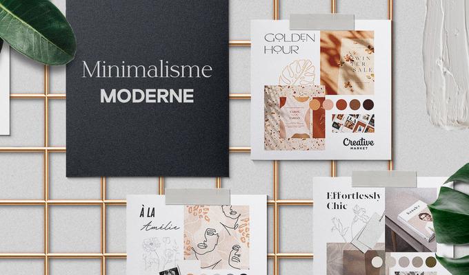 Moodboard Series: Minimalisme Moderne