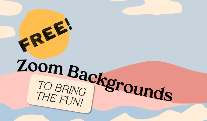 Free Zoom Virtual Background Graphics To Bring The Fun Creative