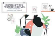 Inspiring Work From Home Setups From Designers Around the World