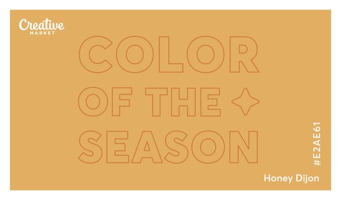 Introducing Our Color of the Season: Honey Dijon