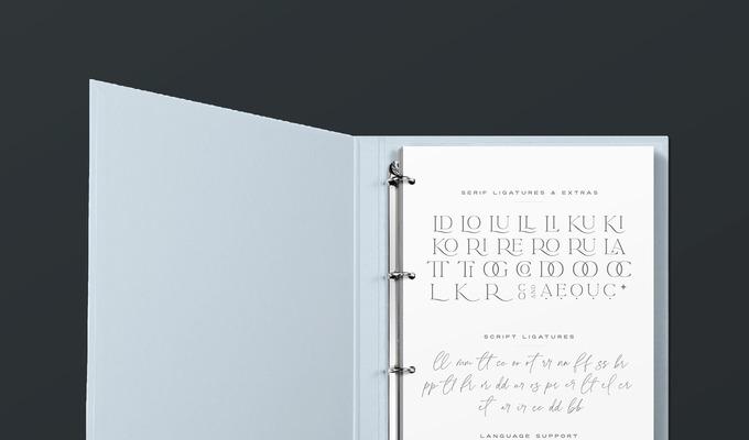 Behind the Font: La Luxes, a Ligature-Rich Duo by Sam Parrett