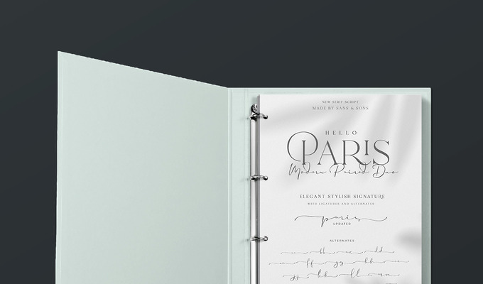 Behind the Font: Hello Paris, a Variable Font Duo Full of Flair