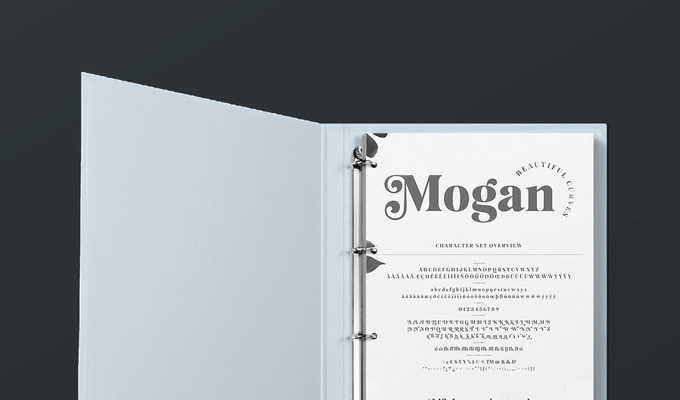 Behind the Font: Mogan, a Bold Ligature Serif by Tobias Saul