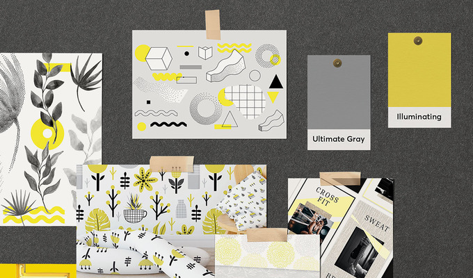 Introducing Ultimate Gray and Illuminating: Pantone's Colors of the Year for 2021