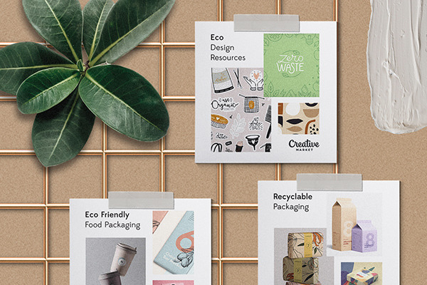 Moodboard Series: Eco Friendly Packaging Design