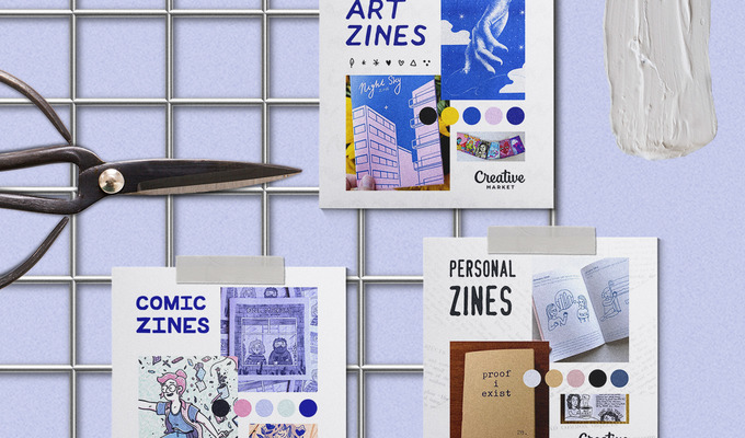 Moodboard Series: The Zine Aesthetic