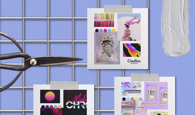 Moodboard Series: Vaporwave